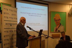 Prof. Reuben Gronau of Hebrew University