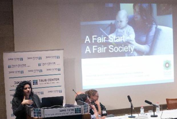 דניאלה בן-עטר מדברת על חינוך לגיל הרך בכנס מרכז טאוב