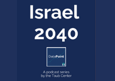 """DataPoint: """"Israel 2040"""" Series"""