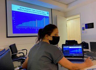 צוות המחקר של היוזמה  לחקר ההתפתחות ואי השוויון בגיל הרך נפגש עם נציגים ממשרד הבריאות