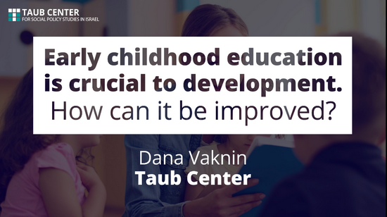 Early childhood education is crucial to development. How can it be improved?